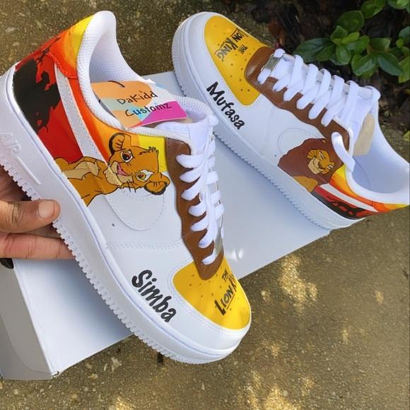 Nike Shoes | Lion King Customs | Poshmark